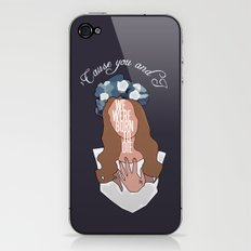We Were Born To Die iPhone & iPod Skin