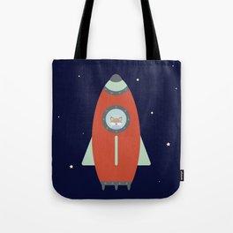 Fox Rocket Tote Bag