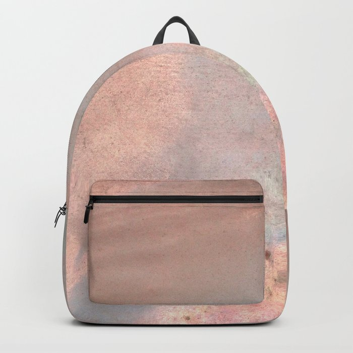 Mother of pearl in rose gold Backpack