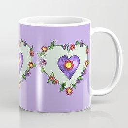 Heartily Floral Coffee Mug