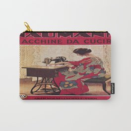 Vintage poster - Naumann Sewing Machine Carry-All Pouch