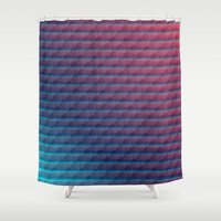 scales Shower Curtains featuring Scales by AZRI AHMAD
