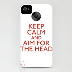 Aim for the head iPhone (4, 4s) Slim Case