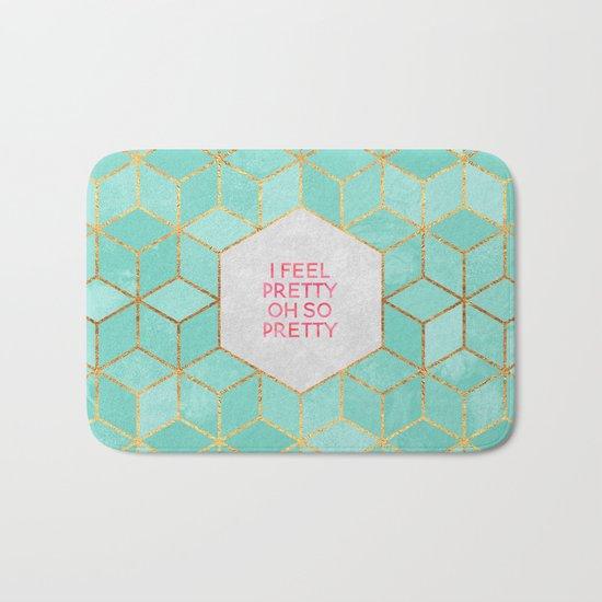 I feel pretty, oh so pretty Bath Mat