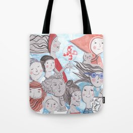 Breezy Parade Tote Bag