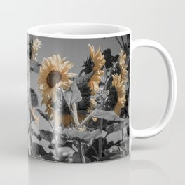 Sunflowers On My Mind Coffee Mug