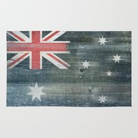 australia Area & Throw Rugs featuring Australia by Arken25