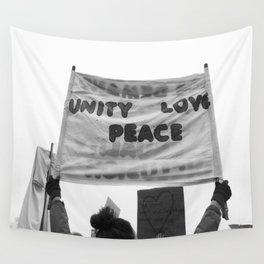 unity, love, peace Wall Tapestry