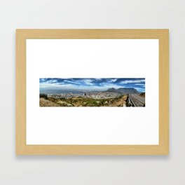 Cape Town, South Africa Framed Art Print