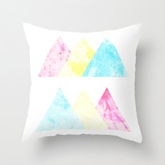 CMY ok? Throw Pillow