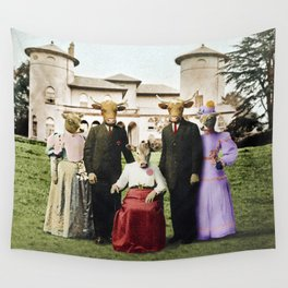 Cowtown Abbey Wall Tapestry