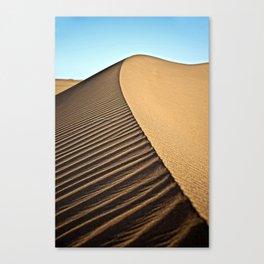 Sahara sand dune, Africa Canvas Print