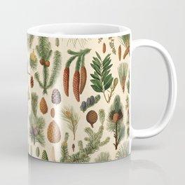 Vintage Pinecones Designs Collection Coffee Mug