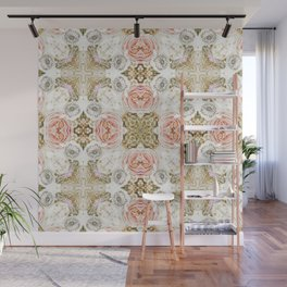 Vintage Floral Two Wall Mural