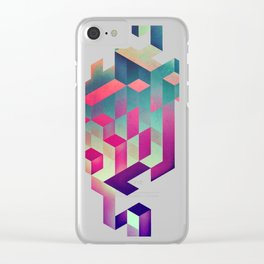isyhyrtt dyymyndd spyyre Clear iPhone Case