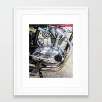 ducati Framed Art Prints featuring Ducati by Nsmphotography