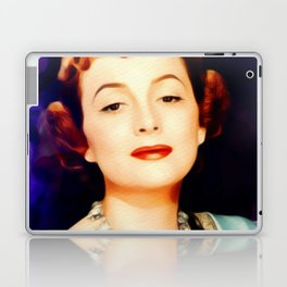 Olivia de Haviland, Vintage Actress Laptop & iPad Skin
