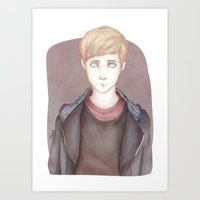 kieren walker Art Prints featuring In The Flesh - Kieren Walker by SerenaArtworks