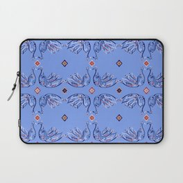 Moroccan Tile Bird Pattern Laptop Sleeve