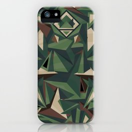 _Camouflage iPhone Case