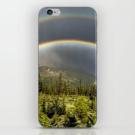 Double Rainbow in Jasper iPhone Skin