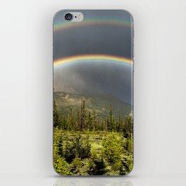 Double Rainbow in Jasper iPhone Skin