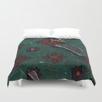 glass Duvet Covers featuring Glass by floor-pies