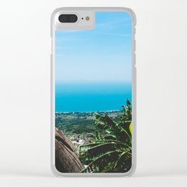View over the Coast of Central Vietnam Clear iPhone Case