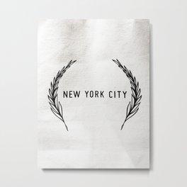 271. New York City, New York Metal Print
