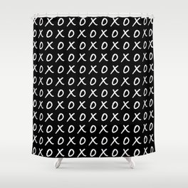 Hugs and Kisses XOXO Shower Curtain