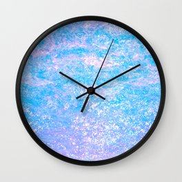 Opalescent Snake Skin Wall Clock