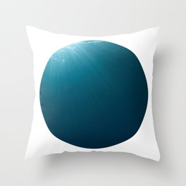 Under Water 7 Throw Pillow