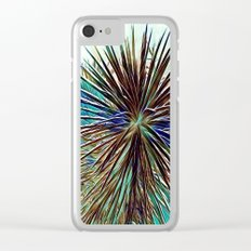 Joshua Tree Mintz by CREYES Clear iPhone Case
