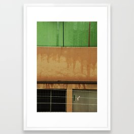 Barcelona Walls Framed Art Print