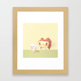 Naughty Soda Framed Art Print