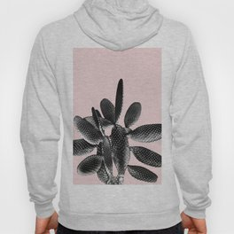 Black Blush Cactus #1 #plant #decor #art #society6 Hoody