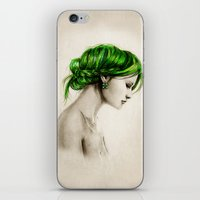 clover iPhone & iPod Skins featuring Clover by Isaiah K. Stephens