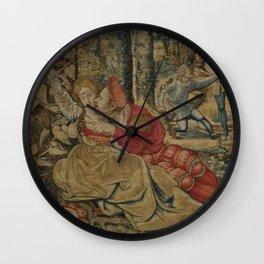 Hunt of Maximilian 4 Wall Clock