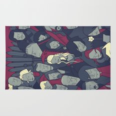 Ice and Fire Rug