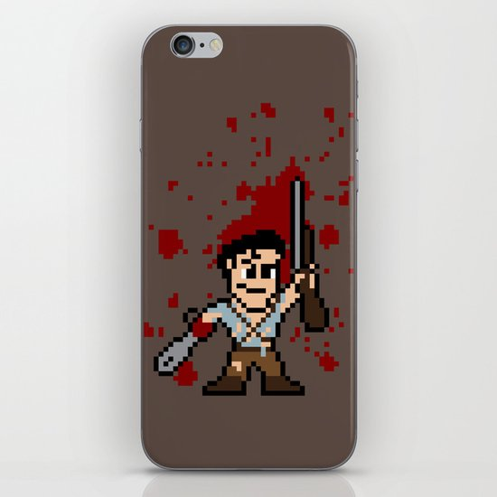 Pixel of Darkness iPhone & iPod Skin