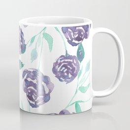 Purple Rose Bush Coffee Mug