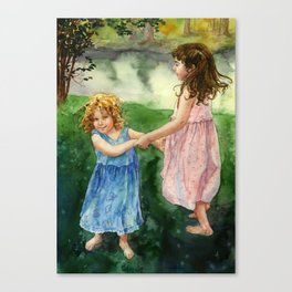 Dancing Canvas Print