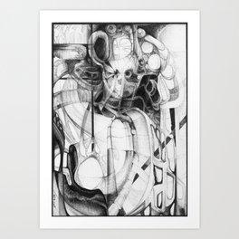Progress Brew Art Print