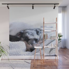 'Namaste Home With My Dog Wall Mural