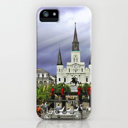 In Christmas Mist iPhone Case