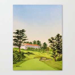 The Olympic Golf Course 18th Hole Canvas Print
