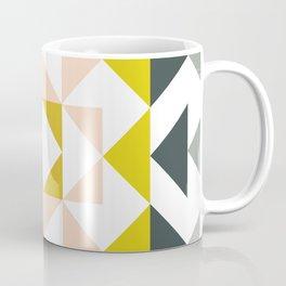 Pretty Triangle Modern Medallion Coffee Mug