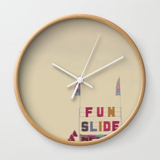 Fun Slide Wall Clock