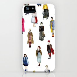 Japanese Street Snap iPhone Case