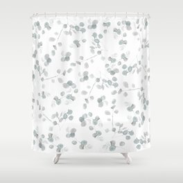 Soft Eucalyptus Shower Curtain